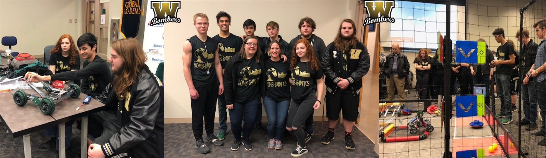 The Robotics Team had a successful year!