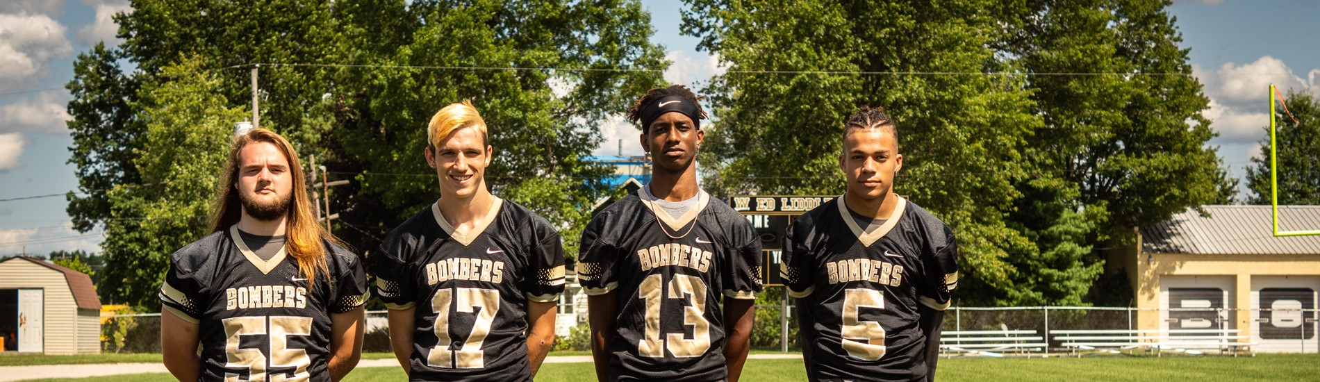 Football Seniors via Oakway Photography