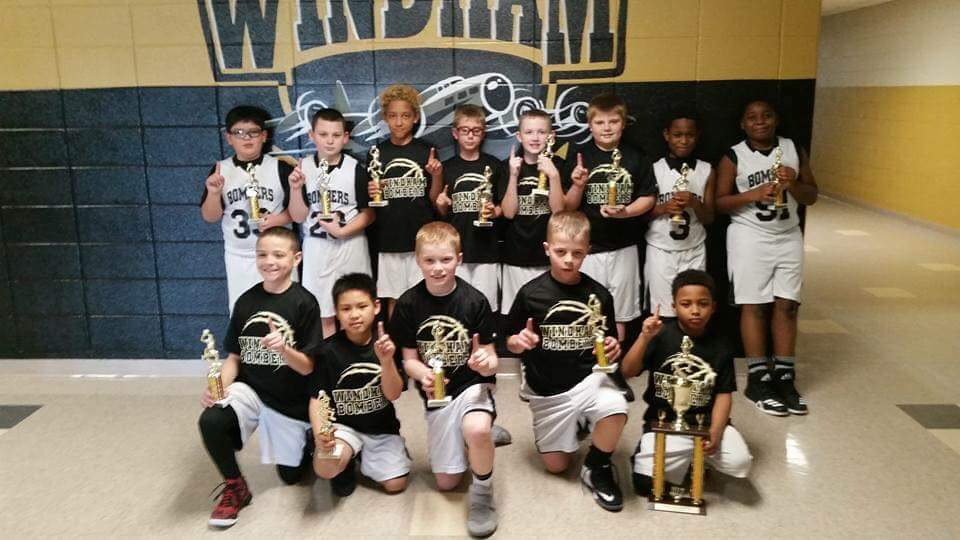 4th Grade Boys Basketball Team - Lil' Dribblers Tournament Champs