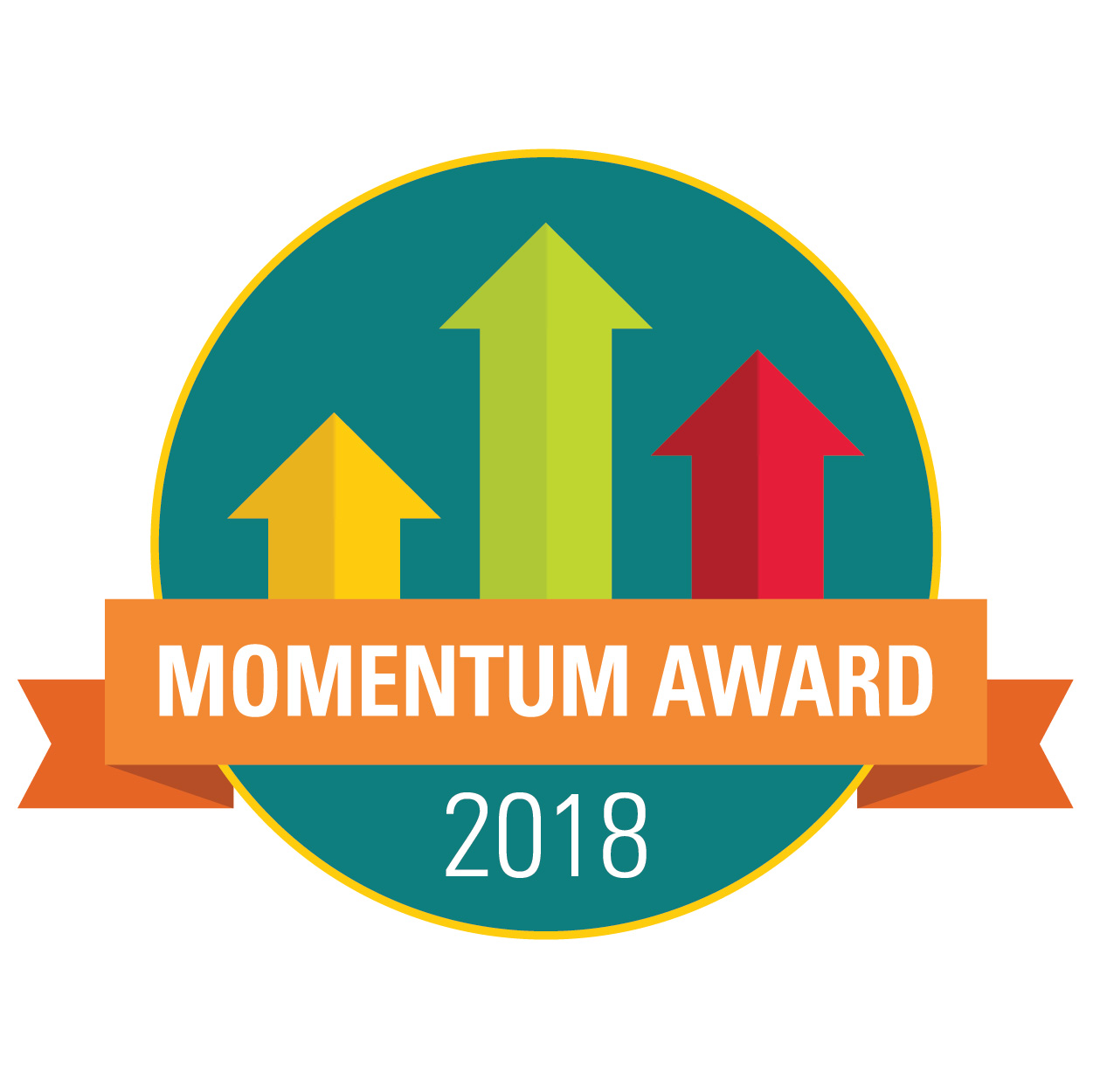 Momentum Award Logo for 2018