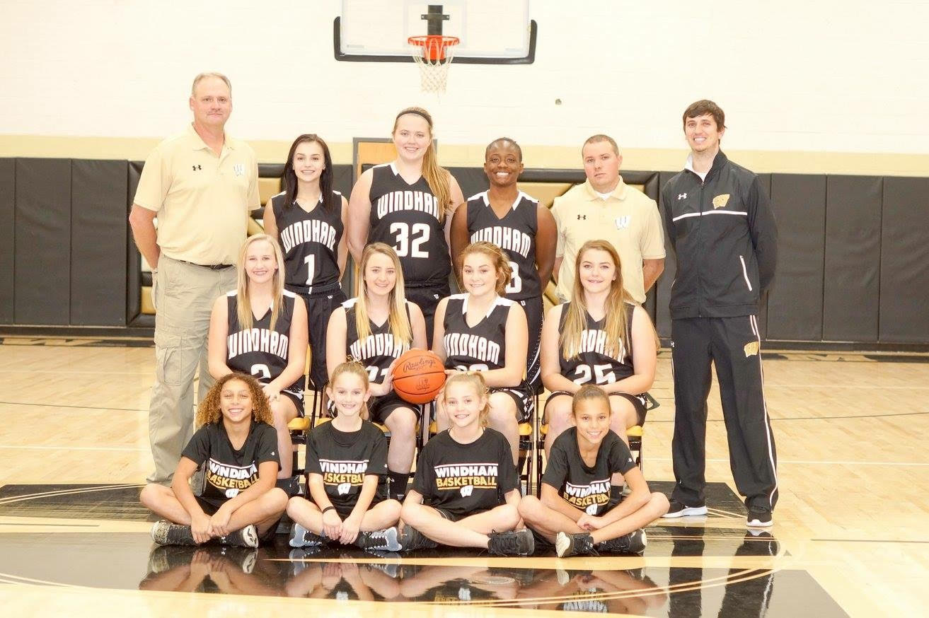 Varsity Girls' Bball Team