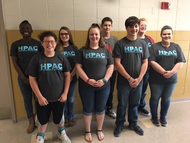 HPAC members worked hard this year on their projects!