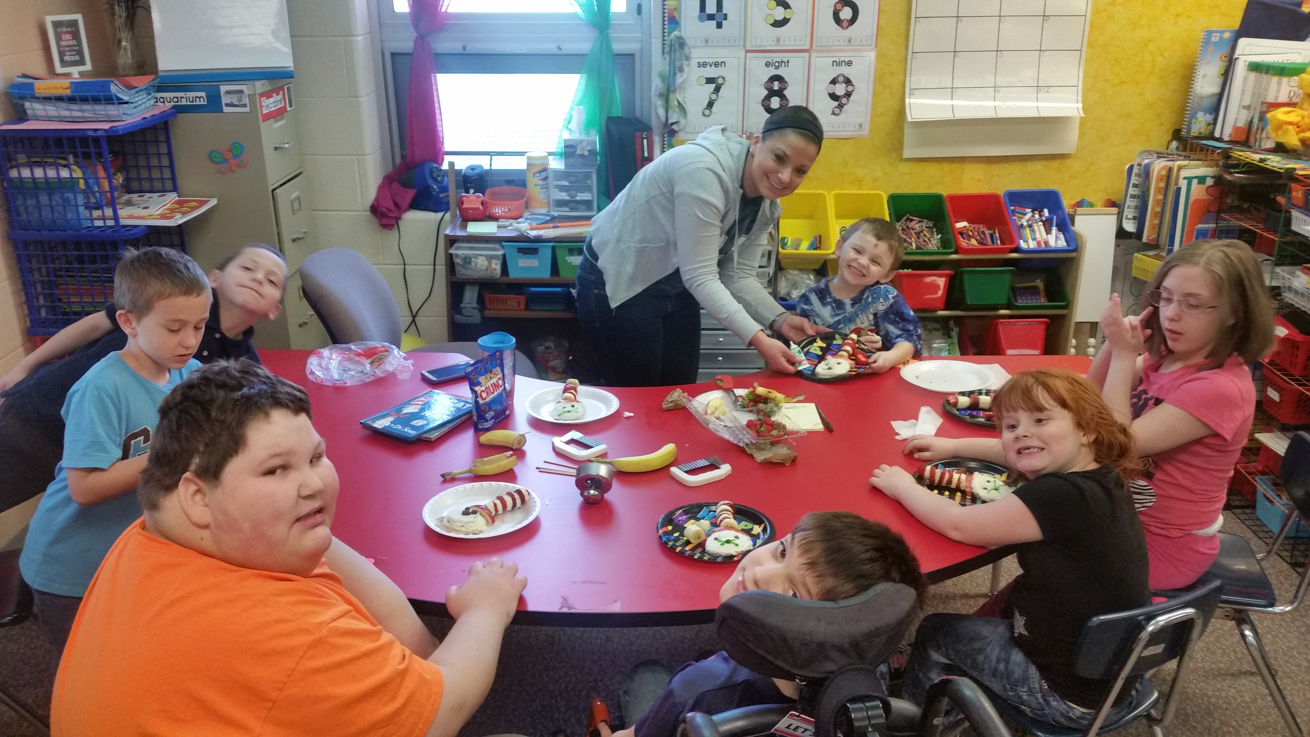 KT students celebrated literacy & Dr. Seuss by creating yummy treats!