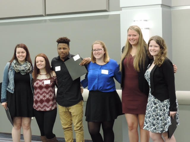Congratulations to our senior students who were honored at the Honors Breakfast at NEOMED.