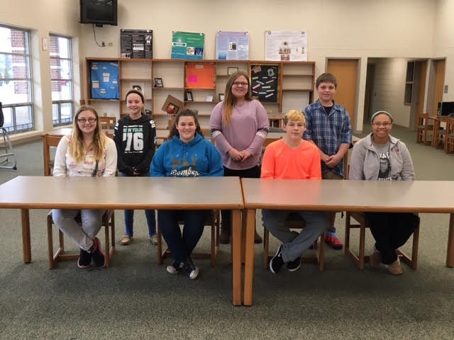 The JR/SR High January Students of the Month