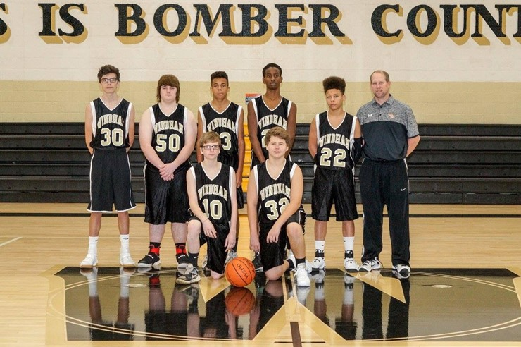 2016-17 Freshmen Boys Basketball Team