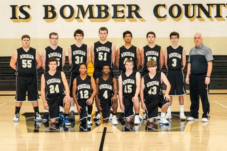 2016-17 JV Boys Basketball Team