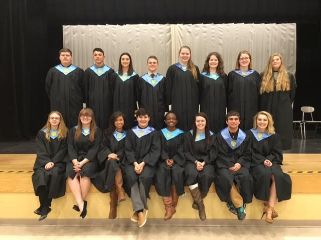 The 2017 National Honor Society Members